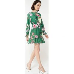 Sukienki hiszpanki: Zielona Sukienka Good Direction