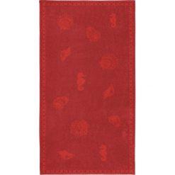 """Kąpielówki męskie: Ręcznik plażowy """"Shells"""" w kolorze czerwonym"""