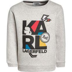 Bluzy chłopięce: KARL LAGERFELD Bluza mittelgrau