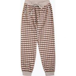 Marie Lund - Damskie spodnie od piżamy, szary. Szare piżamy damskie Marie Lund, s, w kratkę, z bawełny. Za 129,95 zł.