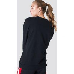 NA-KD Bluza Significant - Black. Szare bluzy z nadrukiem damskie marki NA-KD, z bawełny, z podwyższonym stanem. Za 141,95 zł.
