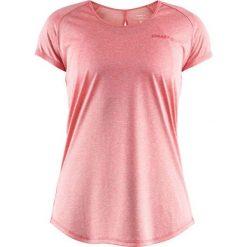 Craft  Koszulka damska Eaze SS Melange Tee Różowa r. S  (1905875  - 702200). Czerwone bluzki damskie marki Craft, s. Za 82,80 zł.