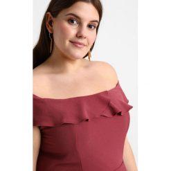 Długie sukienki: City Chic DRESS WRAP RUFFLE Długa sukienka rose