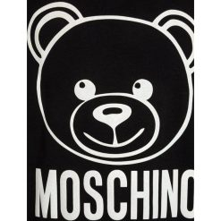 Bluzy chłopięce: MOSCHINO Bluza black