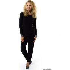 Bluzki asymetryczne: Bluzka czarna damska Lina Nero