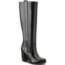 Kozaki SERGIO BARDI - Arborio FW127278417AF 101. Czarne buty zimowe damskie Sergio Bardi, ze skóry, na obcasie. W wyprzedaży za 309,00 zł.