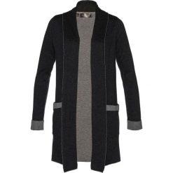 Płaszcz dzianinowy bonprix antracytowy melanż - szary melanż. Szare płaszcze damskie bonprix, melanż, z dzianiny. Za 59,99 zł.