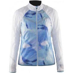 Craft Kurtka Rowerowa Featherlight W White/Blue Xl. Białe kurtki sportowe damskie marki Craft, na lato, xl. W wyprzedaży za 259,00 zł.