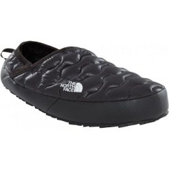 Kapcie męskie: The North Face Kapcie M Thermoball Traction Mule Iv Shiny Tnf Black 44,5