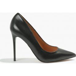 Czółenka Czarne Donna. Czarne buty ślubne damskie Badura. Za 319,99 zł.