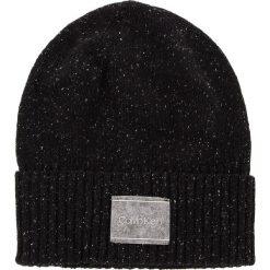 Czapka CALVIN KLEIN - Neps Beanie K50K504126 001. Czarne czapki męskie Calvin Klein, z jedwabiu. Za 199,00 zł.