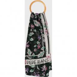 Pepe Jeans - Chusta. Szare chusty damskie Pepe Jeans, z jeansu. Za 99,90 zł.