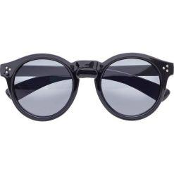 Okulary przeciwsłoneczne bonprix czarno-szary. Czarne okulary przeciwsłoneczne damskie aviatory bonprix. Za 21,99 zł.