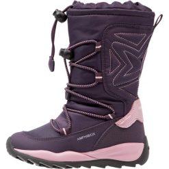 Geox ORIZONT ABX Śniegowce violet. Fioletowe buty zimowe damskie marki Geox, z materiału. W wyprzedaży za 351,20 zł.