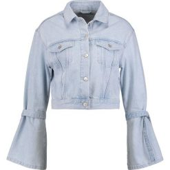 Bomberki damskie: Topshop Kurtka jeansowa lightdenim