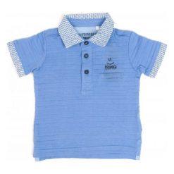 Primigi Koszulka Polo Chłopięca 86 Niebieski. Niebieskie t-shirty chłopięce Primigi. W wyprzedaży za 69,00 zł.