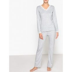 Piżamy damskie: Piżama z koronką