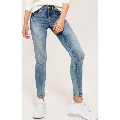 Jeansy skinny - Niebieski. Niebieskie rurki damskie House, z jeansu. Za 89,99 zł.