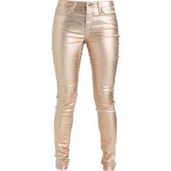 KIOMI Jeans Skinny Fit gold. Niebieskie jeansy damskie marki KIOMI. W wyprzedaży za 167,20 zł.