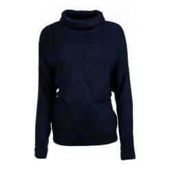 Pepe Jeans Sweter Damski Louise L Ciemnoniebieski. Czarne swetry klasyczne damskie marki Pepe Jeans, l, z jeansu. W wyprzedaży za 236,00 zł.