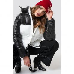 NA-KD Trend Kurtka Puff Block - Black,White,Multicolor. Szare kurtki damskie puchowe marki WED'ZE, m, z materiału. Za 404,95 zł.