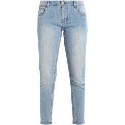 Monkee Genes MONROE CROPPED Jeans Skinny Fit beat. Niebieskie jeansy damskie Monkee Genes. Za 359,00 zł.