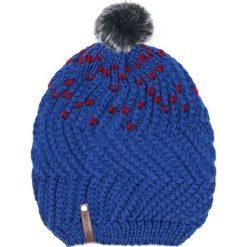 Czapka damska Nakrapiany oversize niebieska. Niebieskie czapki zimowe damskie marki Art of Polo. Za 37,60 zł.