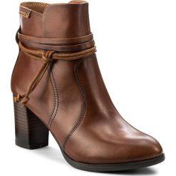 Botki PIKOLINOS - W3N-8955 Cuero. Brązowe buty zimowe damskie Pikolinos, z materiału. W wyprzedaży za 379,00 zł.