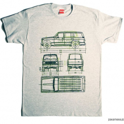 Koszulka NISSAN PATROL GRAY tshirt. Czarne t-shirty męskie marki Pakamera, m, z kapturem. Za 77,00 zł.