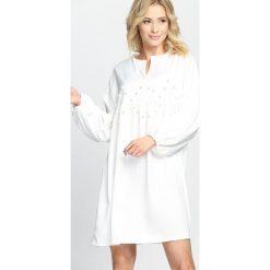 Biała Sukienka Saving Grace. Białe sukienki letnie Born2be, m, mini. Za 44,99 zł.