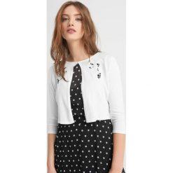 Odzież damska: Sweter z ażurowym haftem