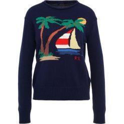 Swetry klasyczne damskie: Polo Ralph Lauren INTARSIA Sweter navy