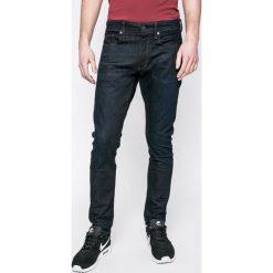 G-Star Raw - Jeansy 3301. Niebieskie jeansy męskie z dziurami marki G-Star RAW. W wyprzedaży za 299,90 zł.