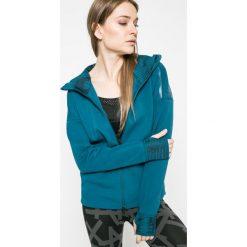 Bluzy rozpinane damskie: adidas Performance - Bluza