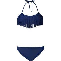 Stroje kąpielowe damskie: Bikini bandeau bonprix niebieski