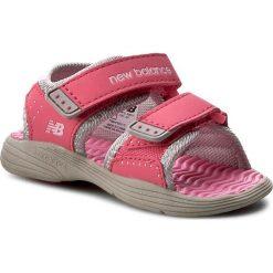 Sandały dziewczęce: Sandały NEW BALANCE – K2004GRP Grey/Pink