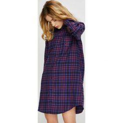 Lauren Ralph Lauren - Koszula nocna. Szare koszule nocne i halki Lauren Ralph Lauren, z bawełny. Za 319,90 zł.
