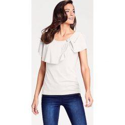 Odzież damska: Koszulka w kolorze kremowym