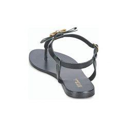 Sandały Betty London  BASTINE. Czarne sandały damskie marki Betty London. Za 103,20 zł.
