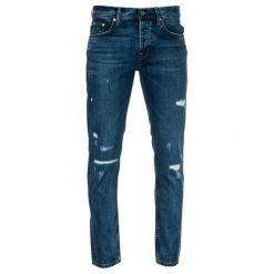Pepe Jeans Jeansy Męskie Malton 34/32 Ciemny Niebieski. Niebieskie jeansy męskie z dziurami marki Pepe Jeans. Za 533,00 zł.