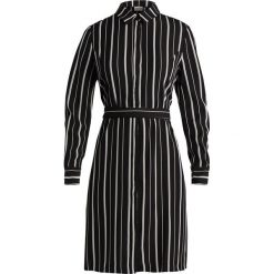 Sukienki hiszpanki: Selected Femme SFDUSINA DRESS Sukienka koszulowa black/white