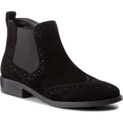 Botki TAMARIS - 1-25493-21 Black 001. Czarne buty zimowe damskie marki Tamaris, ze skóry ekologicznej, na obcasie. Za 249,90 zł.