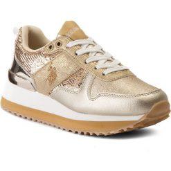 Sneakersy damskie: Sneakersy U.S. POLO ASSN. – Tabitha FRIDA4042S8/TY1 Glitter Gold