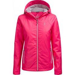 Kurtka narciarska damska KUDN600A - RÓŻ MALINOWY - Outhorn. Czerwone kurtki damskie zimowe Outhorn, m, z materiału. W wyprzedaży za 160,99 zł.