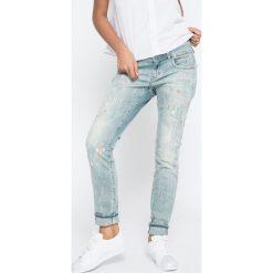G-Star Raw - Jeansy Lynn. Niebieskie jeansy damskie marki G-Star RAW. W wyprzedaży za 499,90 zł.