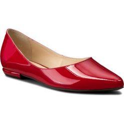 Baleriny HÖGL - 0-180004 Red 4000. Czerwone baleriny damskie lakierowane HÖGL, z lakierowanej skóry. W wyprzedaży za 329,00 zł.