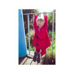 BLUZA BEN RED Z KAPTUREM. Czarne bluzy niemowlęce marki ŁAP NAS, l, z aplikacjami, z bawełny. Za 85,50 zł.