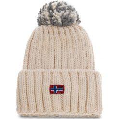 Czapka NAPAPIJRI - Itang Wom 1 N0YGVM New Milk NA9. Brązowe czapki zimowe damskie marki Napapijri, z materiału. W wyprzedaży za 139,00 zł.
