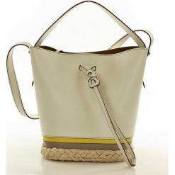 Oryginalna torebka kuferek italian bag FURLA VITTORIA PETALO +TONI NATURALI. Szare kuferki damskie Furla, na ramię. Za 1399,00 zł.