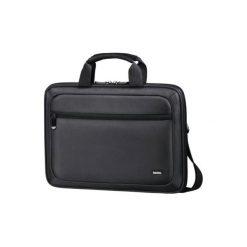 Nizza Life 11.6 cala Czarny Torba na notebooka HAMA. Czarne torby na laptopa marki HAMA, w paski, z materiału. Za 109,00 zł.